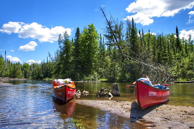 Canoe Camping Along Au Sable River Northern Michigan photo taken by Indiana Photographer Jason Humbracht in 2014