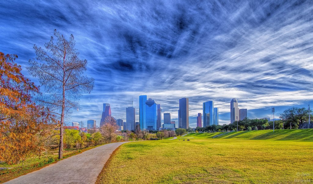 Houston Skyline | Houston, Texas | Image By Indianapolis-based Architectural Photographer Jason Humbracht