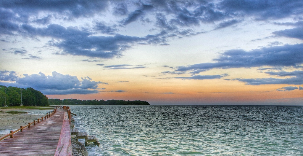 Sunset | Chetumal Mexico | Image By Indiana Architectural Photographer Jason Humbracht