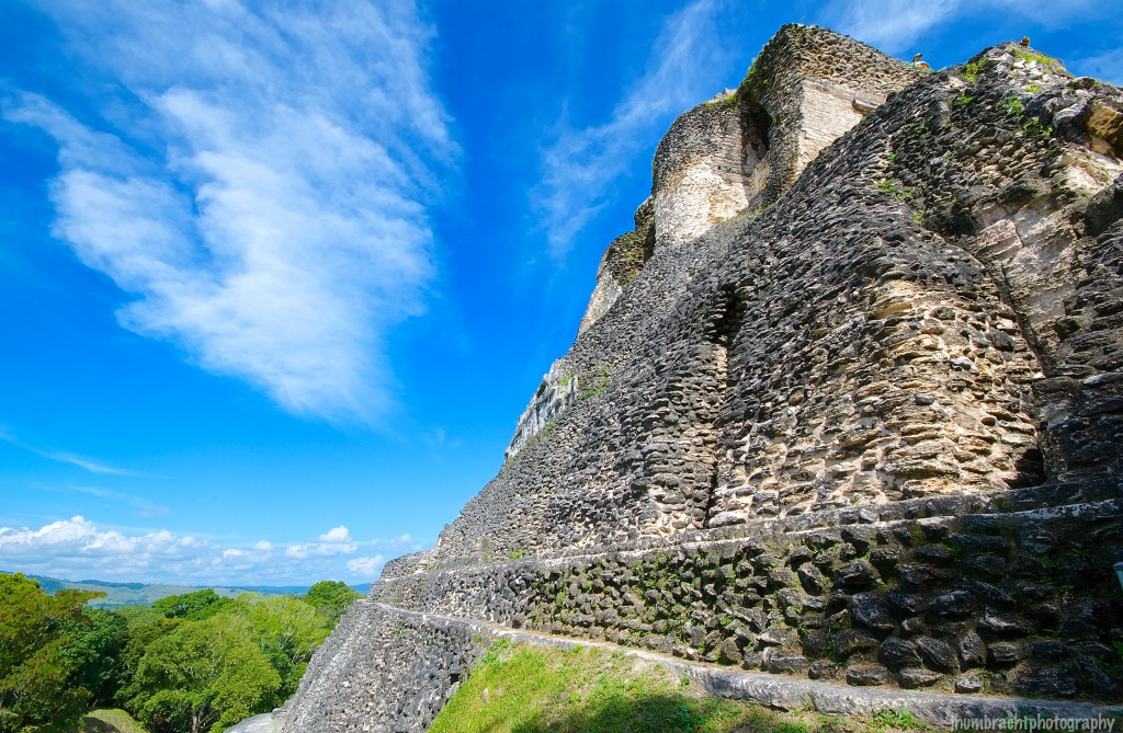 Xunantunich Maya Site | El Castillo | San Jose Succotz Belize | Photo taken by Indiana Architectural Photographer Jason Humbracht