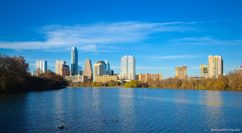 Austin Skyline| Austin, Texas | Image By Indianapolis-based Architectural Photographer Jason Humbracht