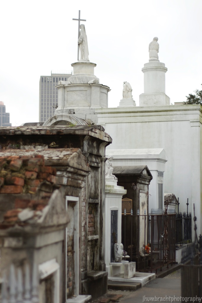 Saint Louis Cemetery Number One | New Orleans, Louisiana | Photo taken by Indianapolis-based Architectural Photographer Jason Humbracht