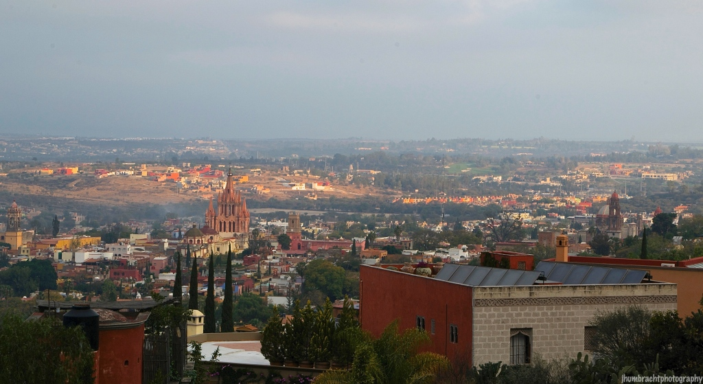 Sunrise San Miguel de Allende Mexico photo taken by Indiana Architectural Photographer Jason Humbracht in 2015