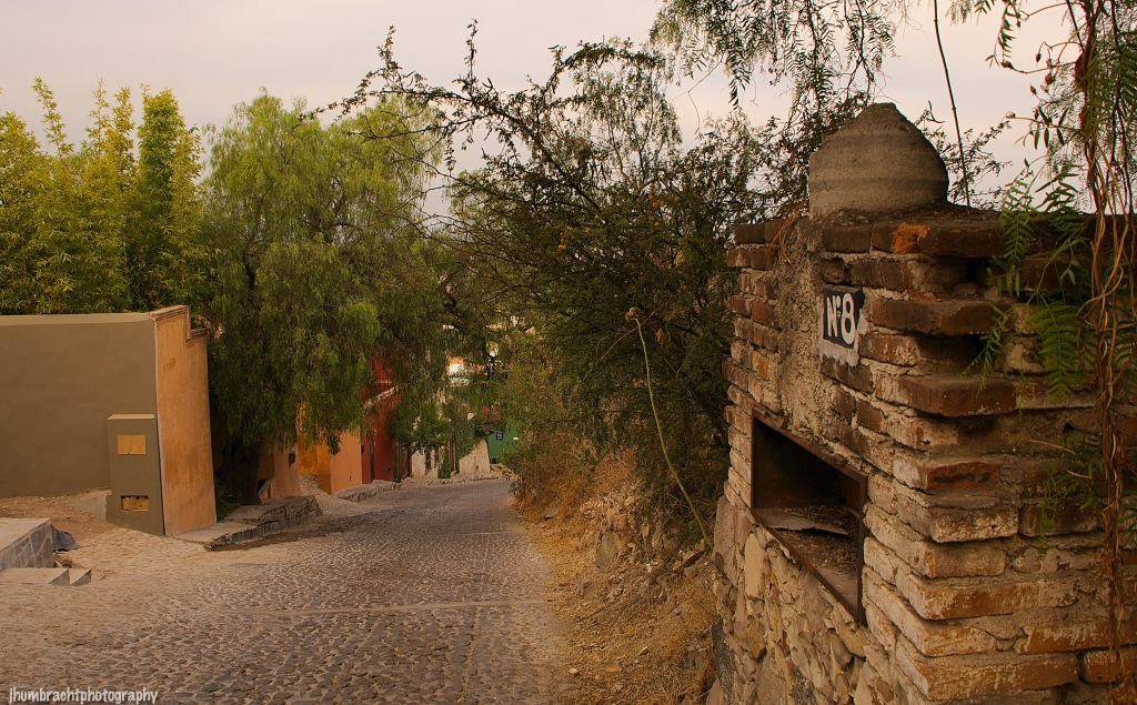Architecture of San Miguel de Allende Mexico photo taken by Indiana Architectural Photographer Jason Humbracht in 2015