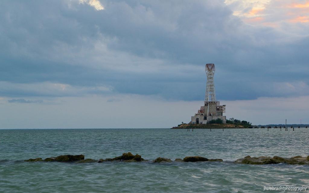 Lighthouse | Sunset | Chetumal Mexico | Image By Indiana Architectural Photographer Jason Humbracht