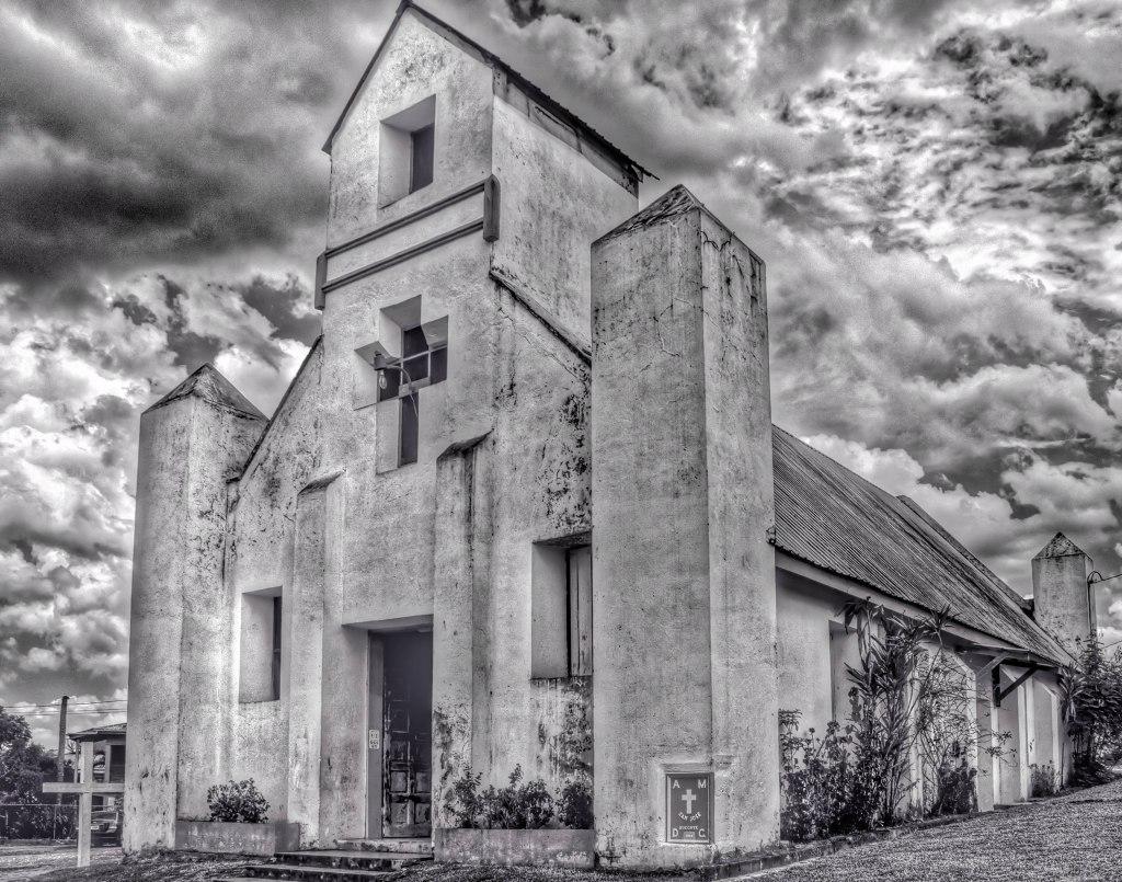 Nazarene Church | San Jose Succotz | Cayo, Belize Image By Indianapolis-based Architectural Photographer Jason Humbracht in 2015