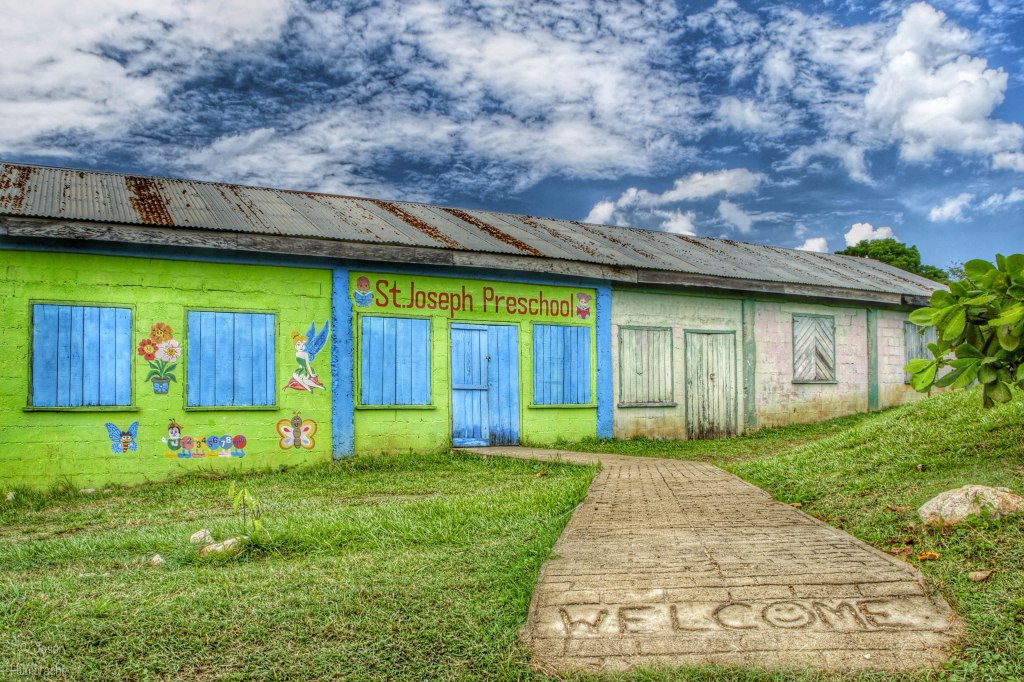 Preschool | San Jose Succotz | Cayo, Belize Image By Indianapolis-based Architectural Photographer Jason Humbracht in 2015