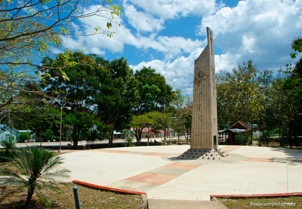 Town Square | Benque Viejo del Carmen, Belize | photo taken by Indianapolis-based Architectural Photographer Jason Humbracht in 2015