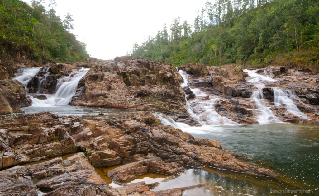 Five Sister's Waterfalls | Mountain Pine Ridge Forest Reserve | Cayo District, Belize | Image By Indiana Architectural Travel Photographer Jason Humbracht