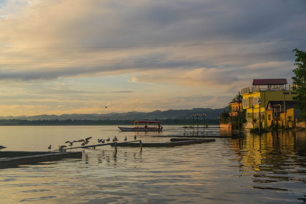 Flores Guatemala | Sunrise | Lake Peten Itza | Travel Photography | Landscape | photo taken by Indianapolis-based Architectural Photographer Jason Humbracht in 2015