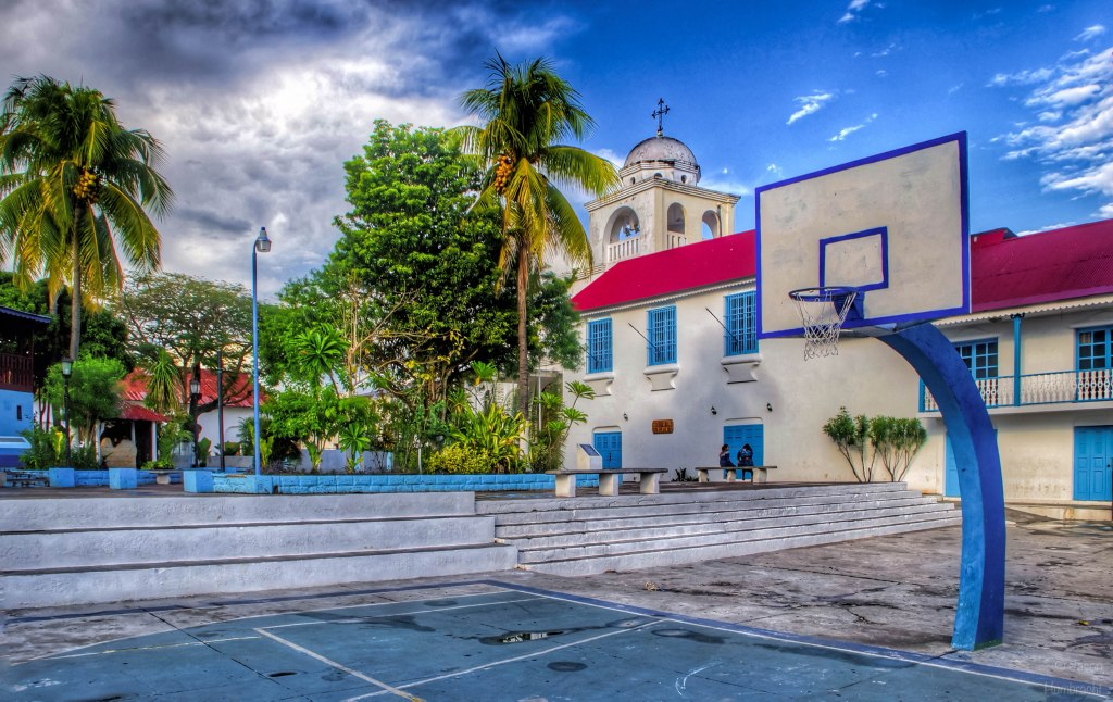 Cathedral de Flores | Flores Guatemala | Landscape | photo taken by Indianapolis-based Architectural Photographer Jason Humbracht in 2015