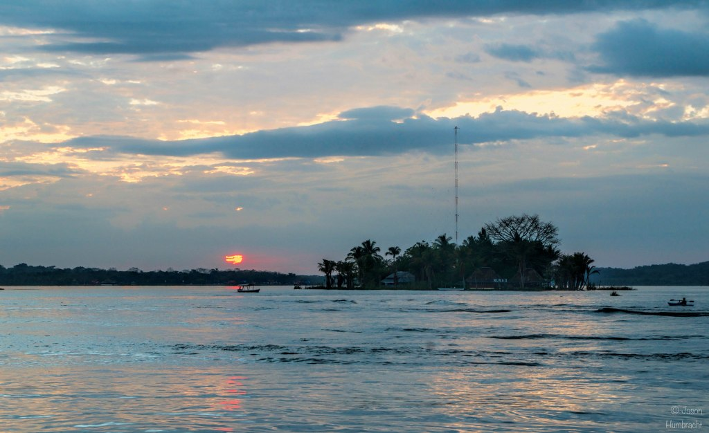 Flores Guatemala | Sunset | Lake Peten Itza | Travel Photography | Landscape | photo taken by Indianapolis-based Architectural Photographer Jason Humbracht in 2015