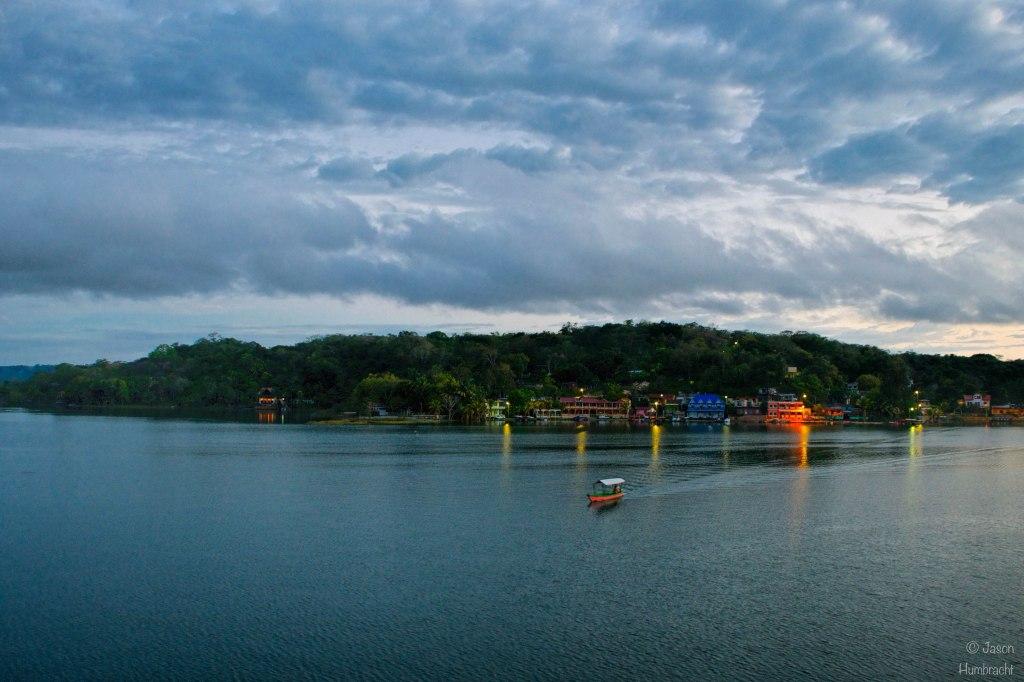 Flores Guatemala | Sunrise | Lake Peten Itza | Travel Photography | Landscape | photo taken by Indianapolis-based Architectural Photographer Jason Humbracht in 2015