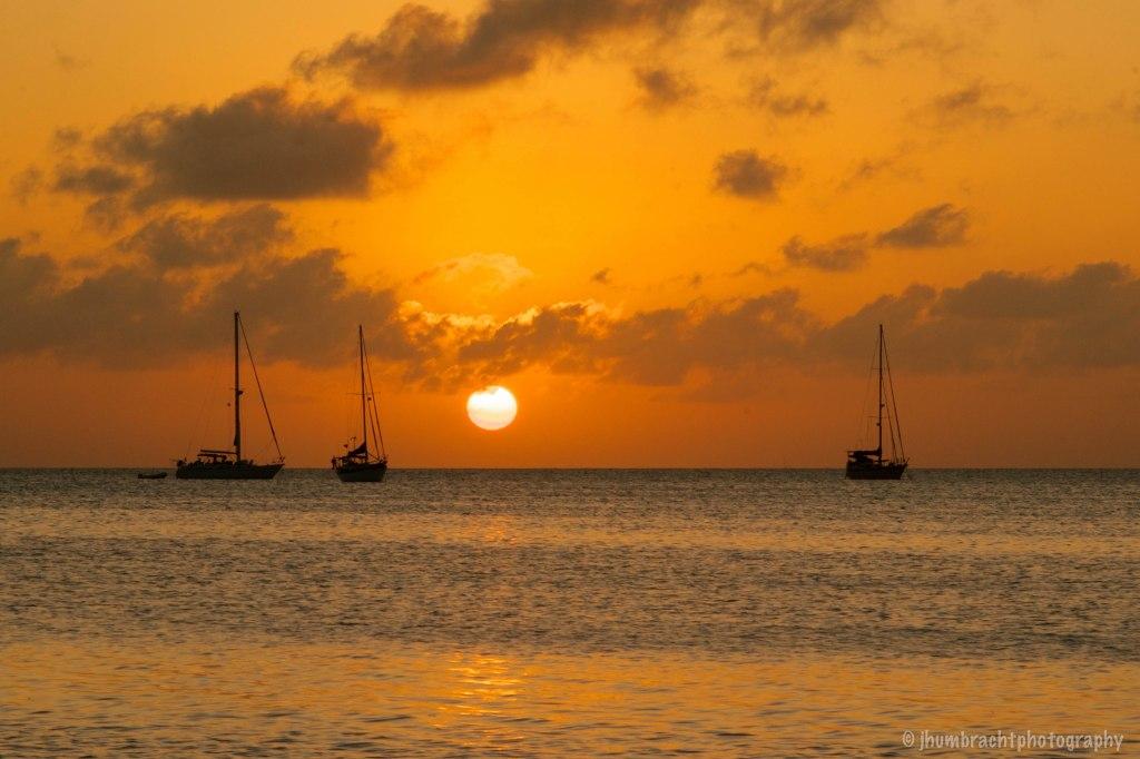 Sunset | Caye Caulker Belize | Image By Indianapolis-based Architectural Photographer Jason Humbracht in 2015