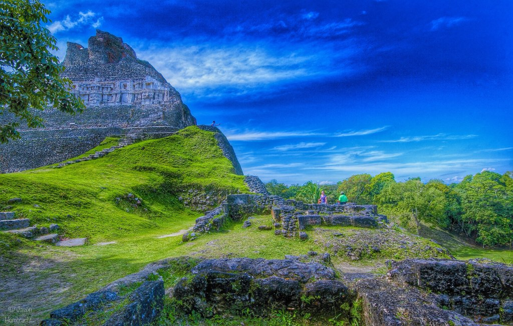 Xunantunich Maya Site | View Up El Castillo | San Jose Succotz Belize | Photo taken by Indiana Photographer Jason Humbracht in 2015