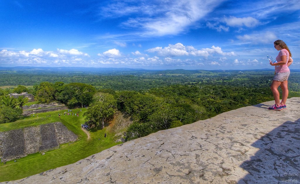 Xunantunich Maya Site | View From El Castillo | San Jose Succotz Belize | Photo taken by Indiana Photographer Jason Humbracht in 2015