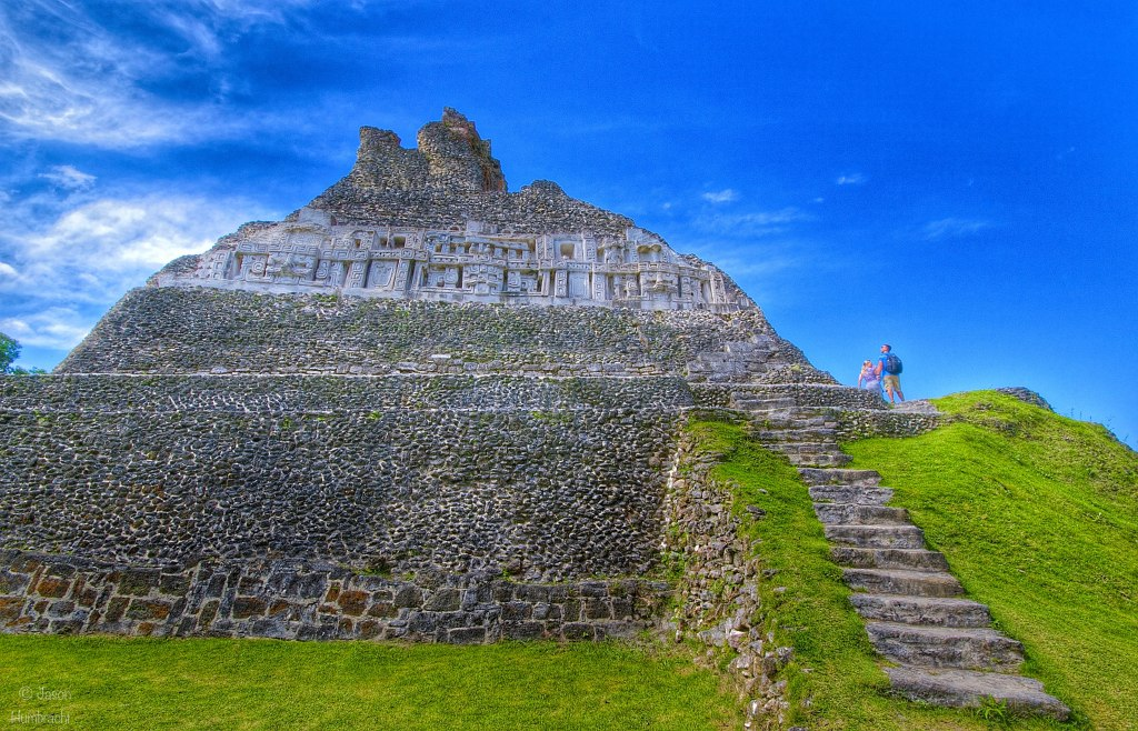 Xunantunich Maya Site | San Jose Succotz Belize | Photo taken by Indiana Architectural Photographer Jason Humbracht