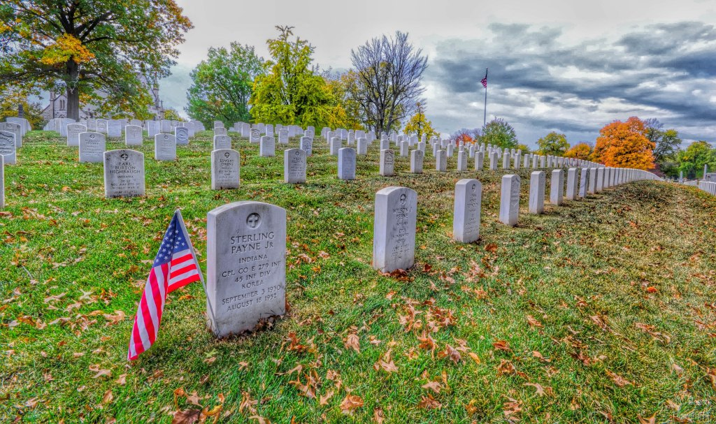 Crown Hill Cemetery | Indianapolis Indiana | Photo taken by Indiana Architectural Photographer Jason Humbracht