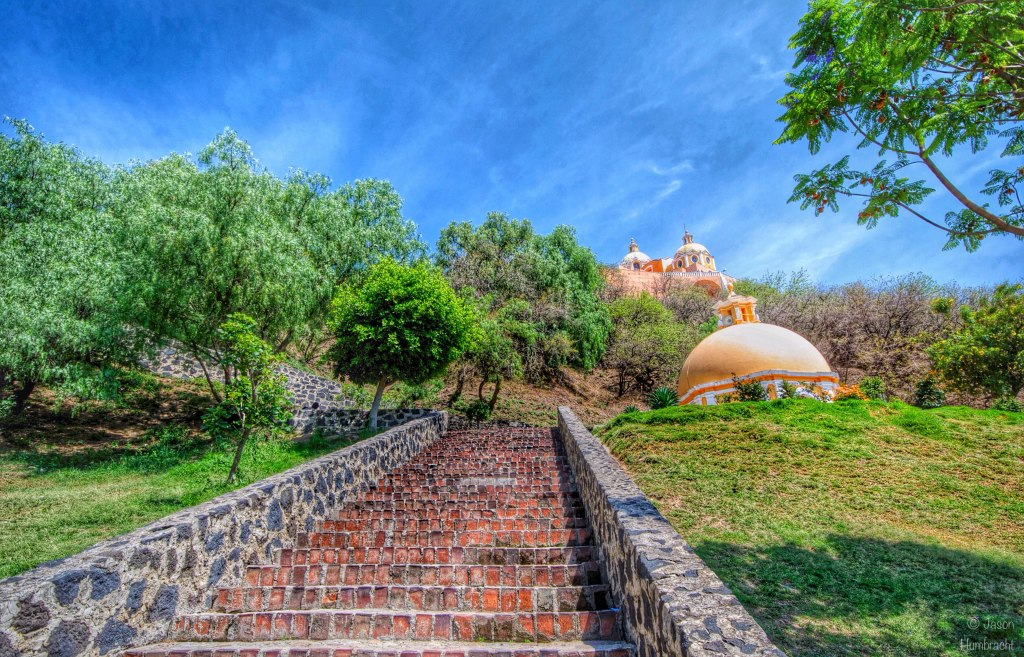 Iglesias de Nuestra Señora de los Remedios | The Great Pyramid of Cholula | Mexico | Photo taken by Indianapolis-based Architectural Photographer Jason Humbracht in 2015