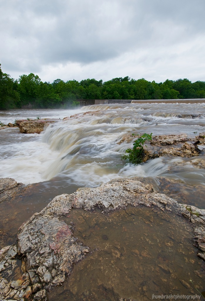 Grand Falls | Joplin Missouri | Waterfall | Image By Indiana Architectural Photographer Jason Humbracht