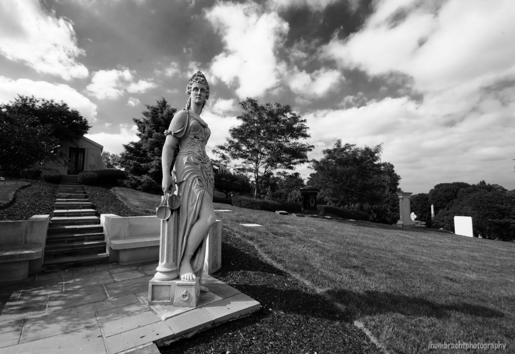 Crown Hill Cemetery | Image By Indianapolis-based Architecture Photographer Jason Humbracht in 2015