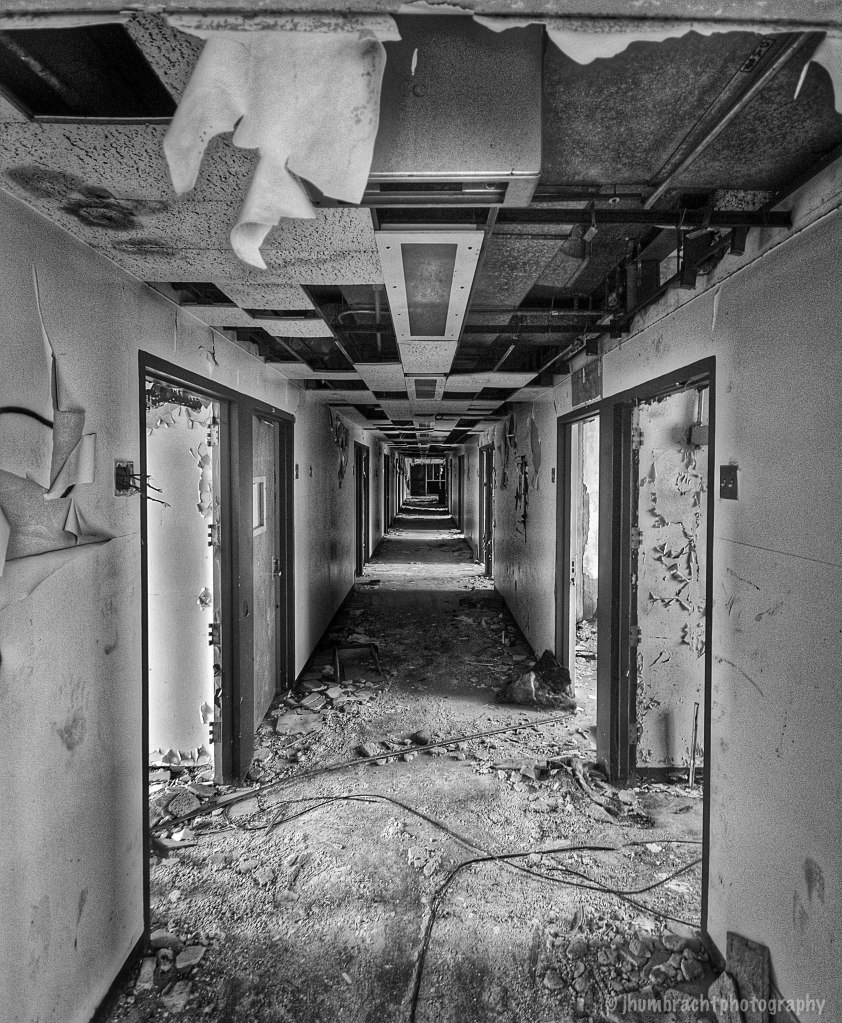Indiana Central State Hospital | Indianapolis Indiana | Image By Indianapolis-based Architectural Photographer Jason Humbracht