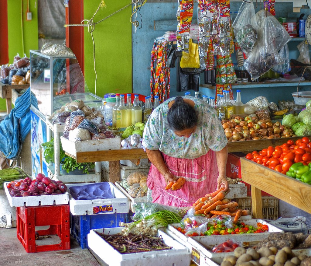 Vendor| Farmer's Market | San Ignacio Belize | Image taken by Indianapolis-based Architectural Photographer Jason Humbracht in 2015