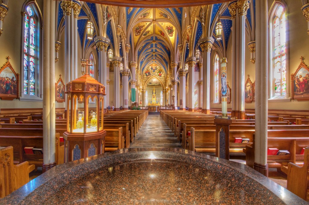 Basilica of the Sacred Heart | University of Notre Dame Cathedral | South Bend Indiana | Architecture | photo taken by Indianapolis-based Architecture Photographer Jason Humbracht in 2015