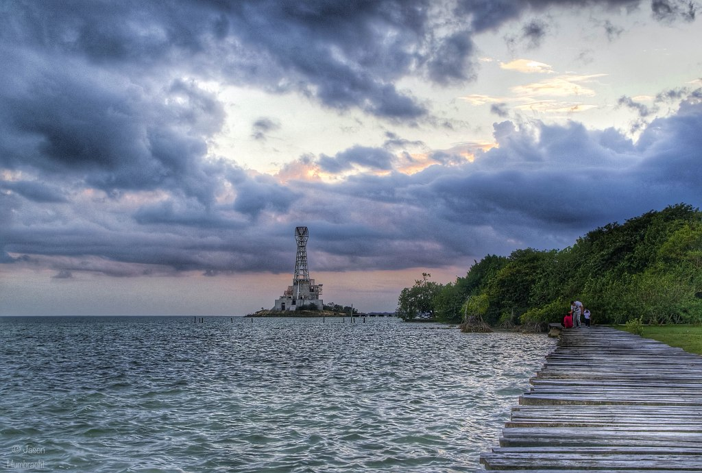 Lighthouse | Chetumal Mexico | Landscape | Image taken by Indianapolis-based Architectural Photographer Jason Humbracht in 2015