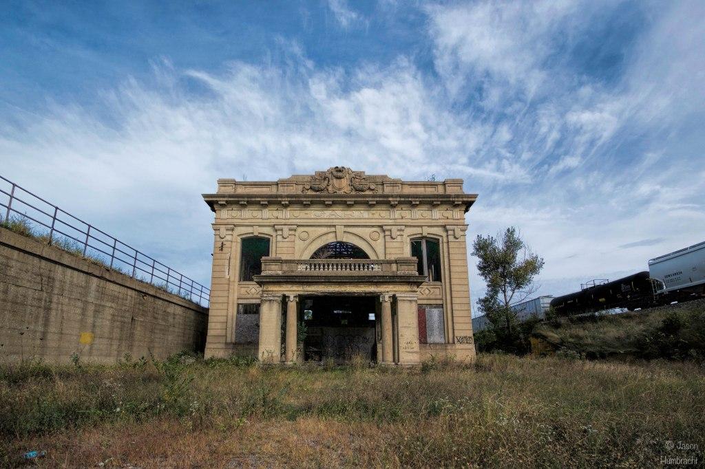 Abandoned Union Station | Gary, Indiana | Image By Indiana Architectural Photographer Jason Humbracht | Urbex