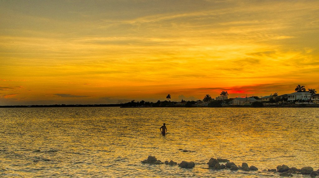 Sunset Corazol, Belize | photo taken by Indianapolis-based Architectural Photographer Jason Humbracht in 2015