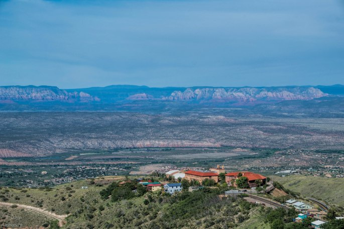 View From Jerome, Arizona | photo taken by Indiana Architectural Photographer Jason Humbracht in 2015