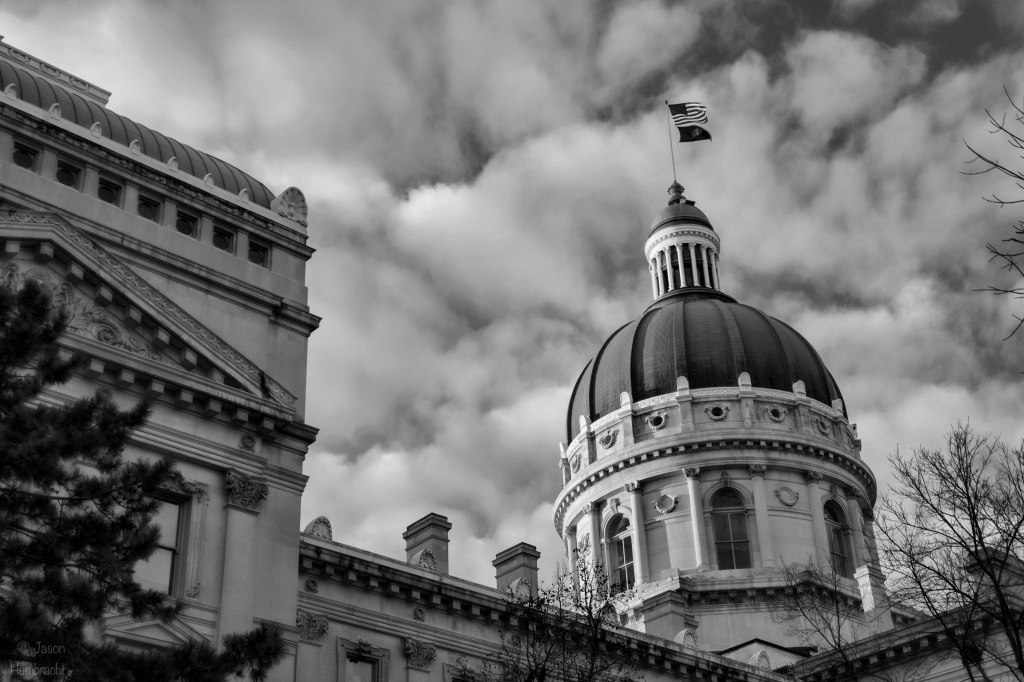 Indiana State Capital | photo taken by Indianapolis-based Architectural Travel Photographer Jason Humbracht in 2015