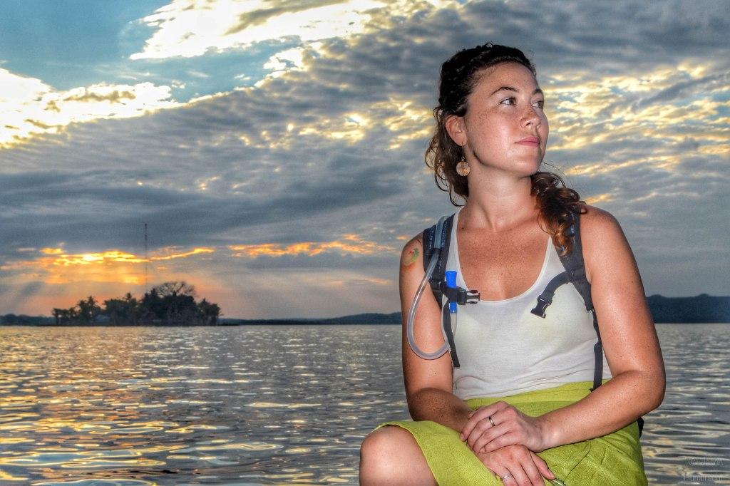 Portrait | Sunset | Flores Guatemala | photo taken by Indianapolis-based Travel Photographer Jason Humbracht in 2015