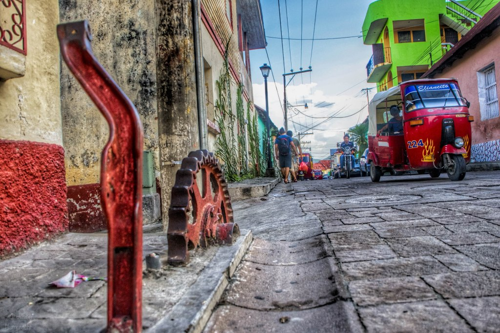 Tsk Tuk | Street Photography | Flores, Guatemala | Image by Indiana Architectural Photographer Jason Humbracht
