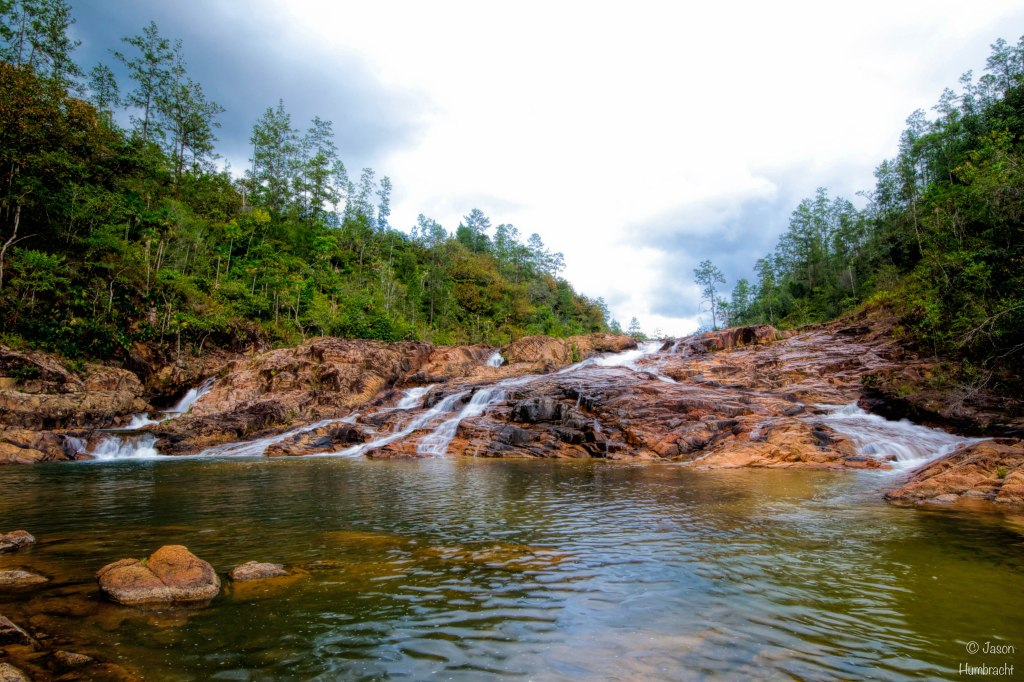 Five Sister's Falls in Mountain Pine Ridge Forest Cayo Belize | Image By Indiana Commercial Real Estate Architectural Photographer Jason Humbracht in 2015