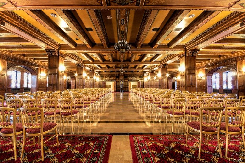 Scottish Rite Cathedral   Indiana Architecture   Freemasons   Masonic Temple   Indianapolis   Photo taken by Indianapolis-based Architectural Photographer Jason Humbracht in 2015