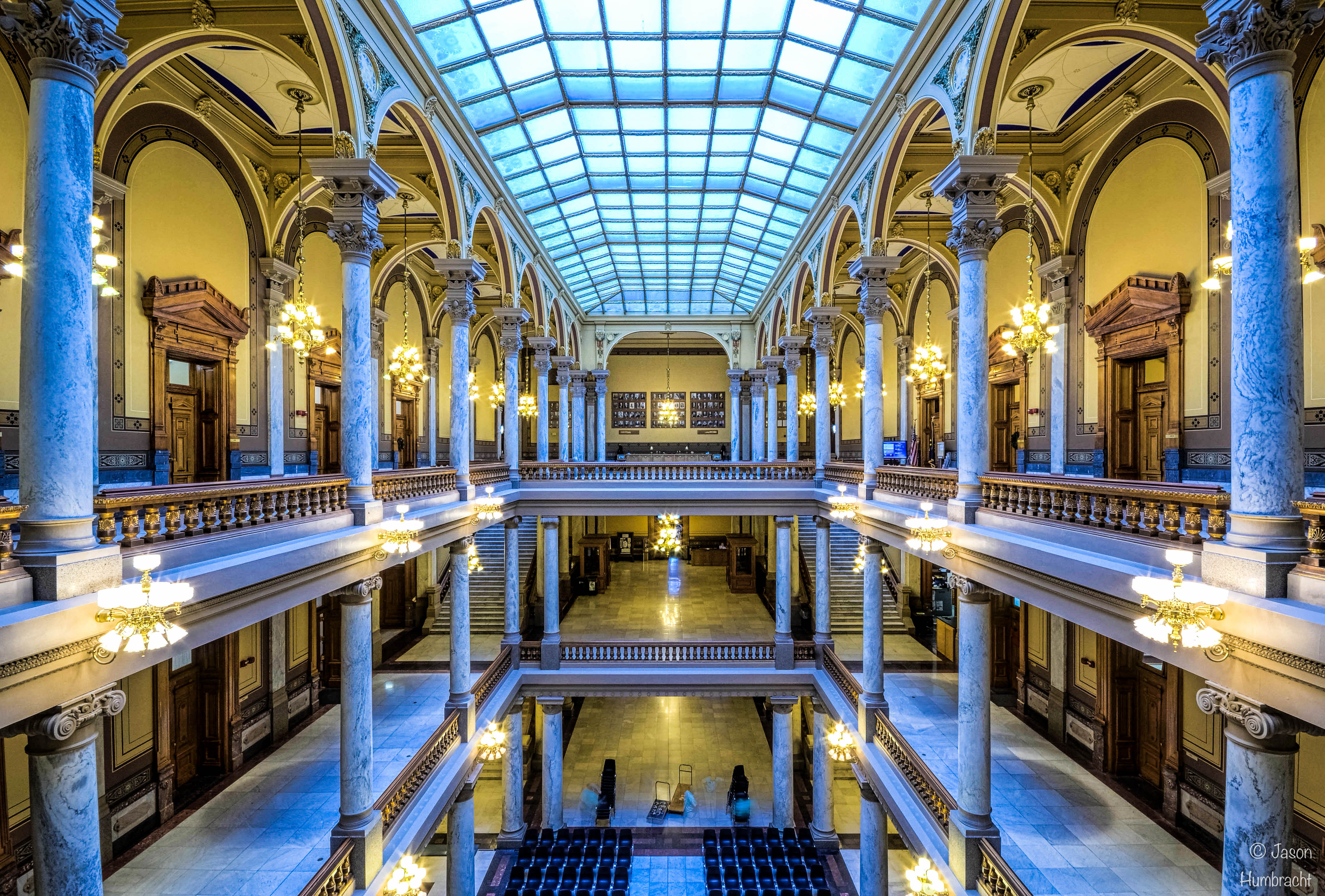 Images From The Indiana State Capital Architecture Of