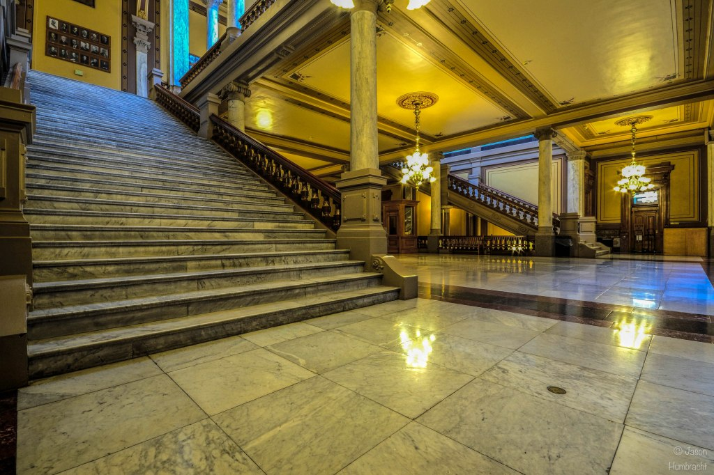 Indiana Architecture | Indiana State Capital | Indianapolis Indiana | photo taken by Indianapolis-based Architectural Travel Photographer Jason Humbracht in 2015