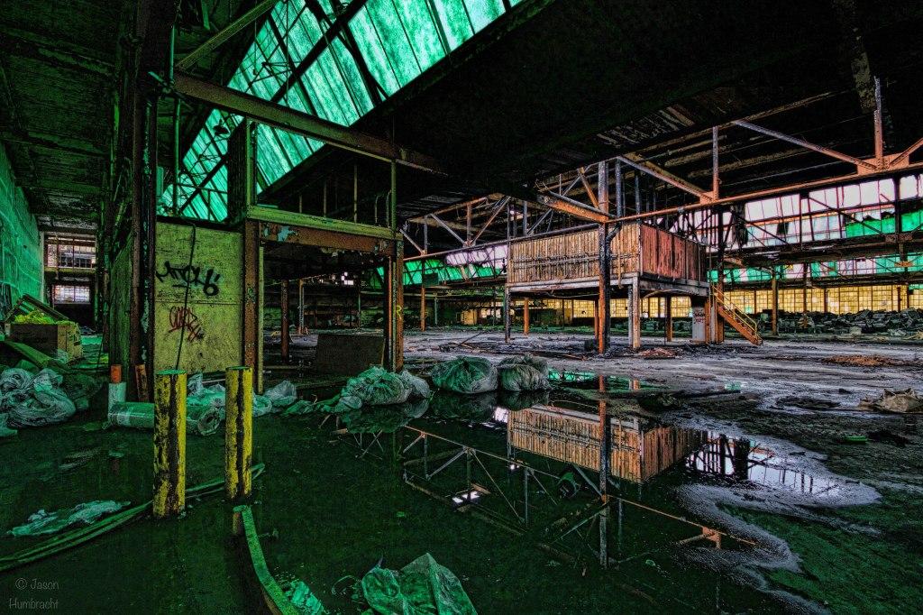 Abandoned RCA Factory   Indianapolis Indiana   Urbex   Image By Indianapolis-based Architectural Photographer Jason Humbracht