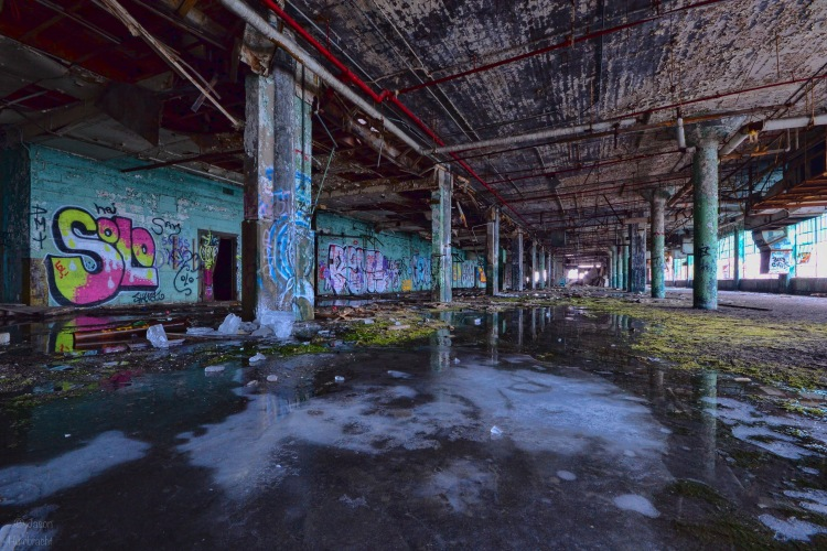 Fisher Plant | Detroit Michigan | Indiana Architectural Photographer Jason Humbracht | Urbex | Abandoned