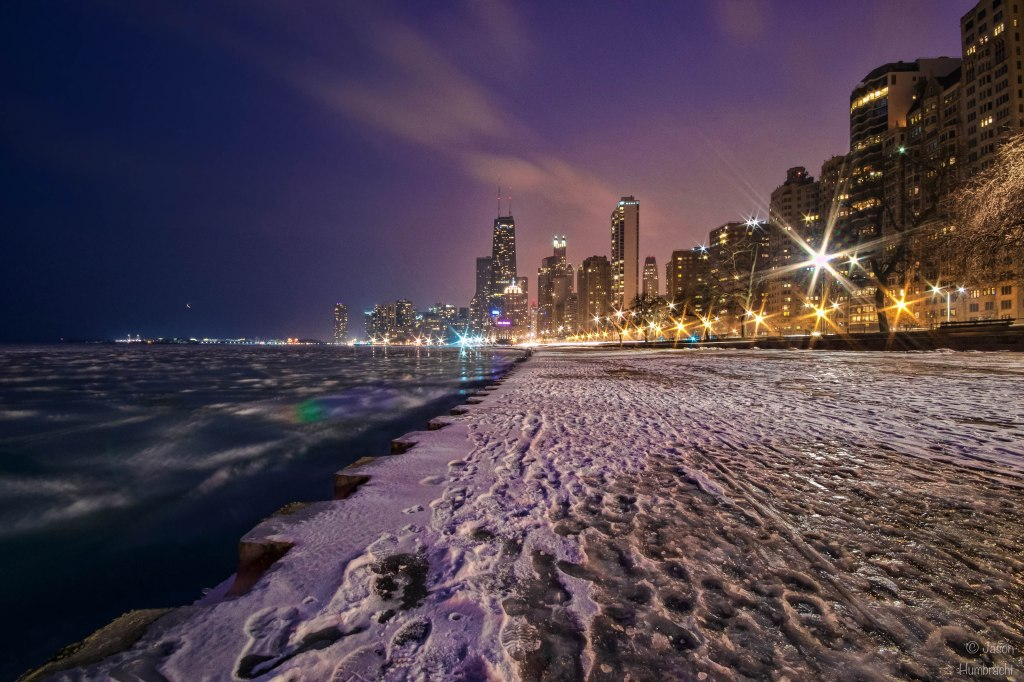 Chicago Skyline At Night | Chicago Architecture | Image By Indiana Architectural Photographer Jason Humbracht