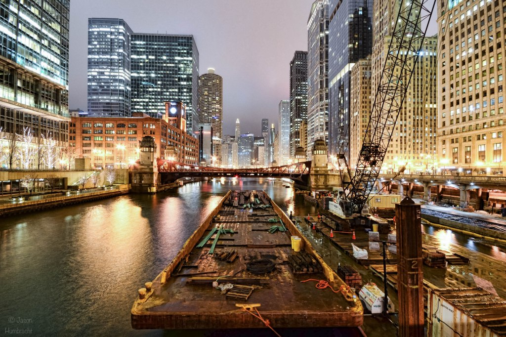 Chicago Architecture | Chicago At Night | Image By Indiana Architectural Photographer Jason Humbracht