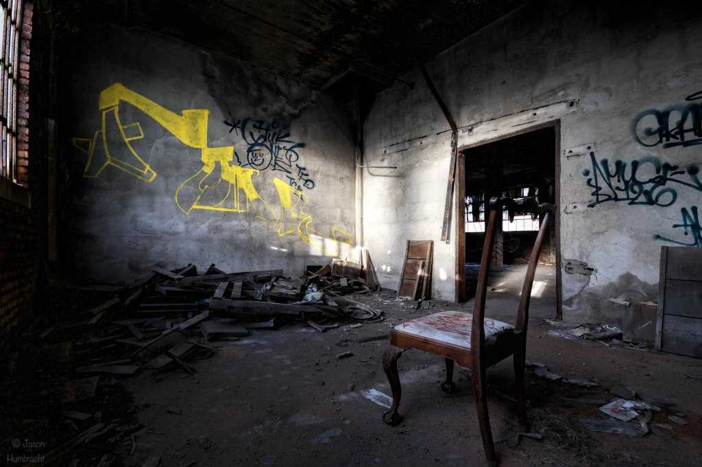 Abandoned Pittsburg Screw & Bolt Factory | Gary Indiana | Gary Urbex | Image By Indiana Architectural Photographer Jason Humbracht