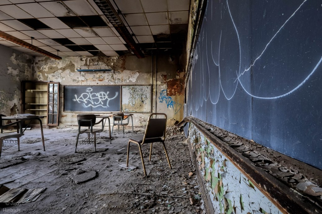Abandoned | Ralph Waldo Emerson School | Gary Indiana | Indiana Real Estate Photographer Jason Humbracht | Urbex