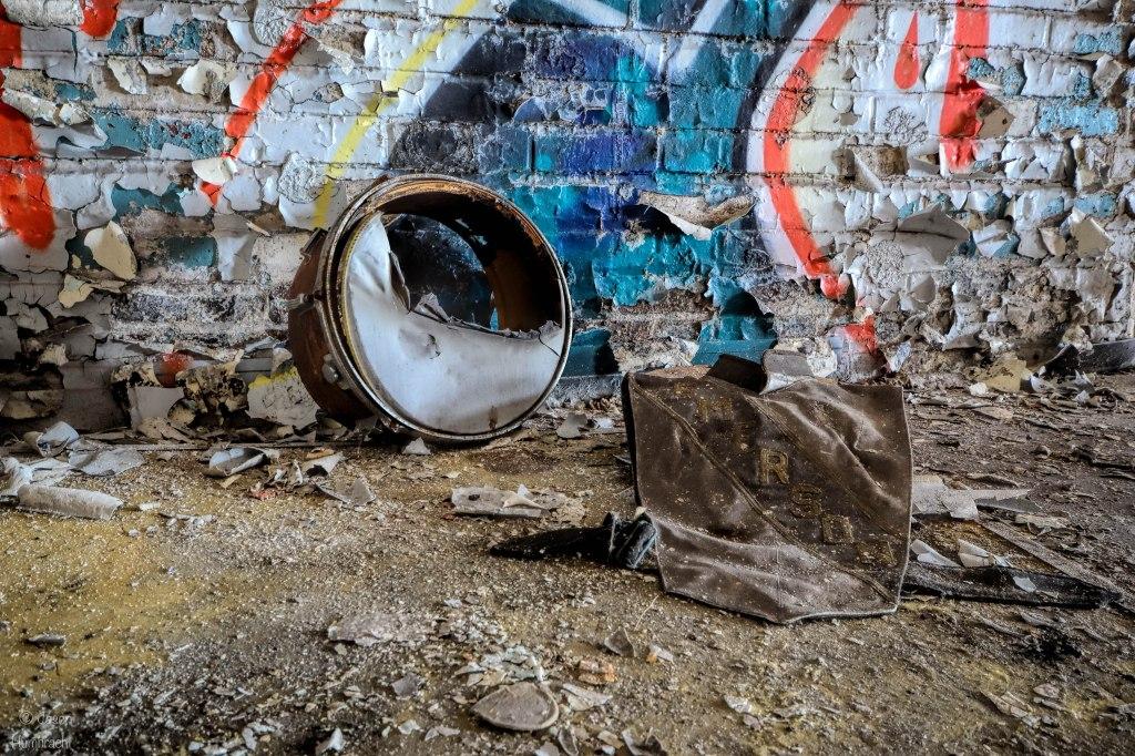 Abandoned Ralph Waldo Emerson High School | Urbex Photography | Gary Indiana | Image By Indiana Architectural Photographer Jason Humbracht