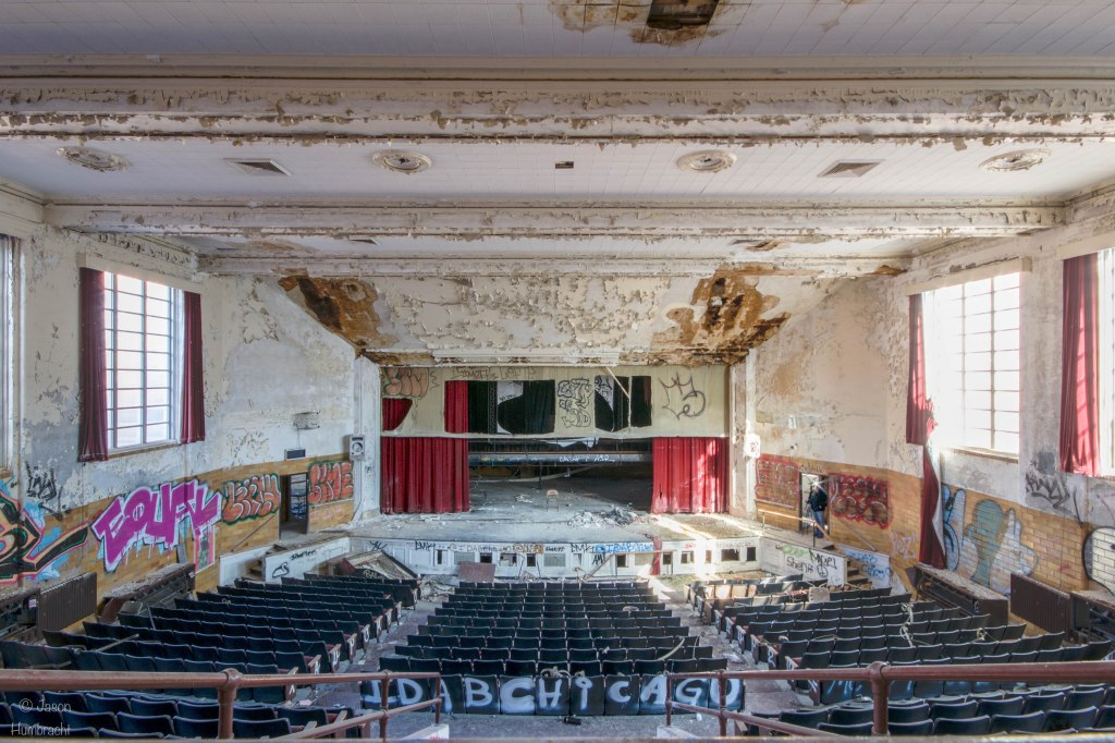 Abandoned Horace Mann High School | Gary Indiana | Gary Urbex | Abandoned Schools | Image by Indiana Architectural Photographer Jason Humbracht