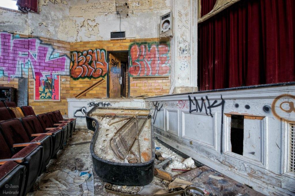 Abandoned Horace Mann High School | Gary Indiana | Gary Urbex | Abandoned Schools | Image by Indiana Architectural Photographer Jason Humbracht