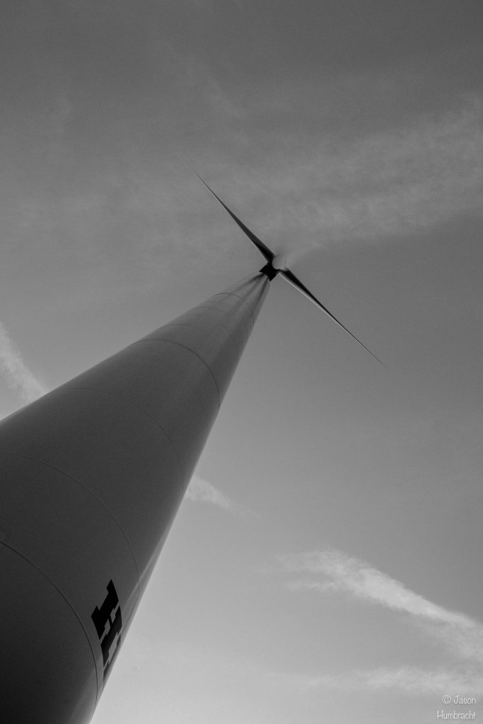 Wind Turbine | Indiana Countryside | Image by Indiana Architectural Photographer Jason Humbracht in 2016