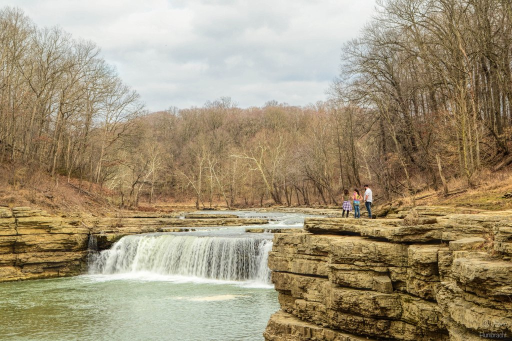 Cataract Falls | Indiana Waterfalls | Lieber State Recreation Area | Cloverdale, Indiana | Image By Indiana Architectural & Travel Photographer Jason Humbracht